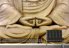 Looking for something Modern This stunning Ethnic Wallpaper Murals http://www.wallart-direct.co.ukhttp://www.wallart-direct.co.uk/ethnic-golden-buddha-wallpaper-murals to view full product details