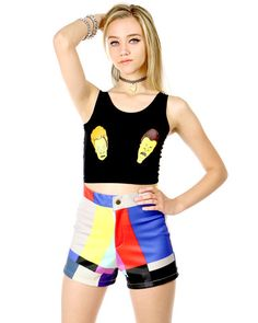 OMG!!!!! Check out what I found on Shop Jeen.com!!! What do you think?!?! SCREEN TEST BOOTY SHORTS