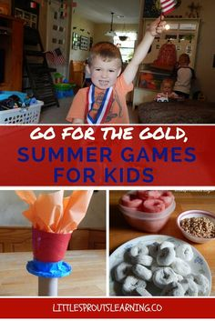 At Little Sprouts we love the Summer Games. There is so much to learn from them.