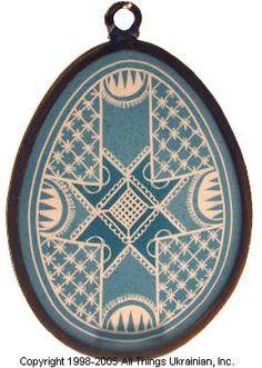 Stained glass Easter Egg Pysanky # UA05-2032 from Ukraine. http://www.allthingsukrainian.com