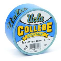 Amazon.com: Duck Brand 240388 UCLA College Logo Duct Tape, 1.88-Inch by 10 Yards, Single Roll: Home Improvement