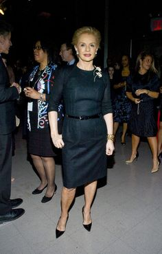 Carolina Herrera Little Black Dress - Carolina Herrera Clothes Looks - StyleBistro