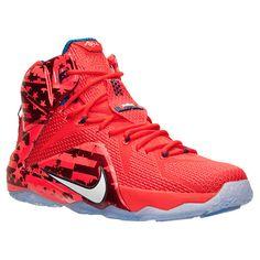 Men's Nike LeBron 12 Basketball Shoes - 684593 616 | Finish Line