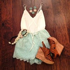 I need this... lovely summer outfit! cute