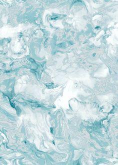 Muriva Elixir Marble Teal Wallpaper (10.05m x 53cm) – Teal