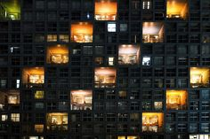"""nevver: """"Up all night, Yannick Penven """" High Rise Building, Photo Caption, Property Development, Through The Window, City Architecture, Landscape Photography, Facade, Skyscraper, Tokyo"""