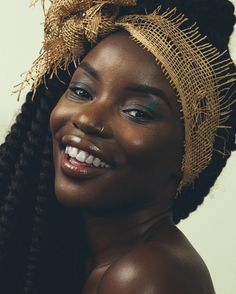 See this Instagram photo by @forevermamou • Keep Smiling. MUA: @blushedbyyvette // : @Angelicagrace_photo || Dark Skin.