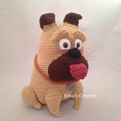 Vida de Mel el secreto de mascotas Crochet Amigurumi muñeca