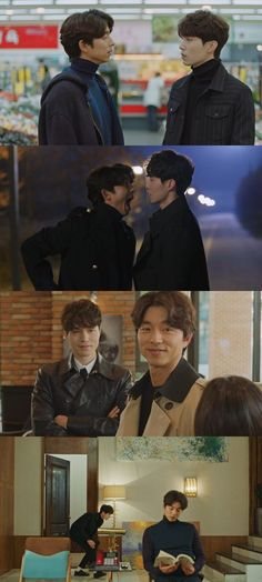 """Goblin"" Gong Yoo and Lee Dong-wook Begin the Bromance @ HanCinema :: The Korean Movie and Drama Database"