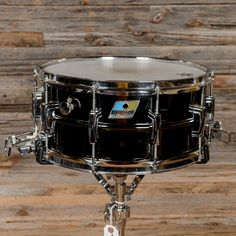 Ludwig 6.5x14 Black Beauty Super Sensitive Snare Drum 1979 I owned one of these in my youth. Along wit a full set of black vistalites.