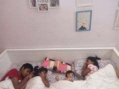 My four children on IKEA Daybed Hemnes Ikea Hemnes Bed, Hemnes Day Bed, Cheap Furniture Online, Ikea Furniture, Ikea Daybed, Ikea Shopping, Ikea Kids, Best Ikea, Toddler Bed
