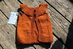 waldorf simple woolen vest pumpkin spice 6 by blueskiesdragonflies, $30.00
