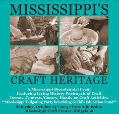 21 best mississippi craft center images on pinterest mississippi