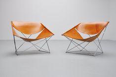 Pierre Paulin F675 Butterfly chairs for Artifort, 1963