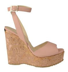 Jimmy Choo embroidered wedges, $695, Saks Fifth Avenue