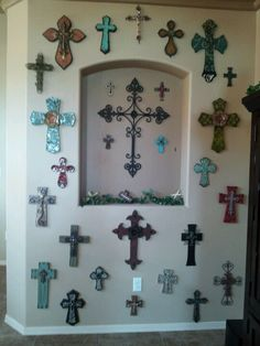 Love love love my cross wall!
