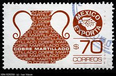 Mexican export, postage stamp, Mexico