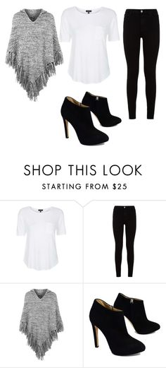 """""""Untitled #40"""" by tabitha02dt ❤ liked on Polyvore featuring Topshop, 7 For All Mankind and Giuseppe Zanotti"""