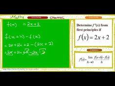 first principle fx = First Principle, Maths Solutions, Good Grades