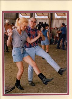 country line dancing..