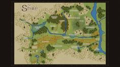 lord of the rings online map comparison