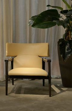 Swed Armchair, from Trussardi Casa's first home collection launched in 2014 during Milan Design Week