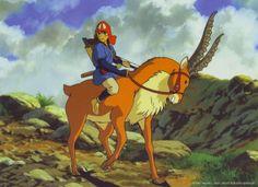Anime, Mononoke Hime, Studio Ghibli, Prince Ashitaka, Yakult