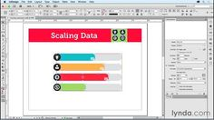 Modifying scaling properties, part of InDesign: Creating Animations