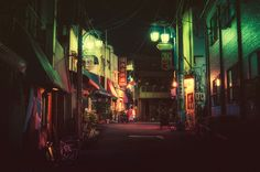 Photos of Tokyo Back Alleys by Masashi Wakui | Faith is Torment | Art and Design Blog