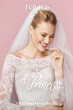 Be your own bride! David's Bridal has dream dresses (and so much more) to match every style, size, and budget. It starts with your first appointment. Book now to bring your wedding vision to life with David's Bridal.