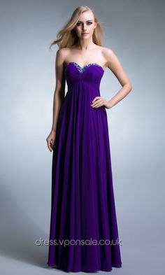 Purple Sweetheart Chiffon Elegant Prom Dress DVP0013 http://dress.vponsale.co.uk/purple-sweetheart-chiffon-elegant-prom-dress-dvp0013-p-4279.html?pin=allthingswedding