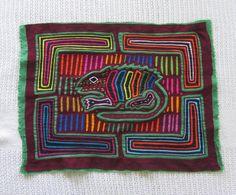 MOLA Textile Native Panama Kuna Indian Applique mygypsycottage, $38.00