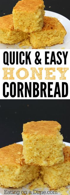 Looking for cornbread dinner recipes? Try this delicious and sweet Honey Corn Bread Recipe that the entire will love. It is the Best homemade corn bread recipe.