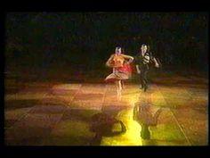 James and Jaana Kunitz doing Samba in The International Latin Ballroom Championship