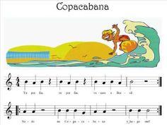06 Copacabana - YouTube Teaching Music, Teaching Resources, Christmas Sheet Music, Music Activities, Music Classroom, Music Lessons, Music Education, Pre School, Music Videos