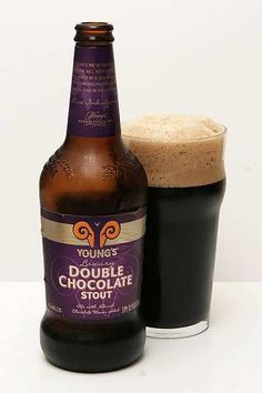 YOUNG'S DOUBLE CHOCOLATE STOUT. YUM!
