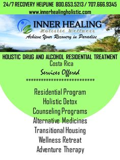 innerhealingholistic.com programs and services. Achieve your Recovery in Paradise CALL US NOW 800.653.5213 / 707.666.9345 #innerhealingholistic #drugrehab #holisticrehab