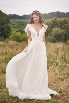 Lillian West Lace Wedding Dress, Designer Wedding Dresses, Boho Wedding, Bridal Dresses, Wedding Gowns, French Wedding Dress, Ethereal Wedding Dress, Bridal Gown, Lillian West