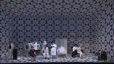 Il Trittico San Francisco Opera Fall 2009 | Set design by Allen Moyer | Costume Design by Bruno Schwengl | Lighting Design by Chris Maravich | from chrismaravich.com