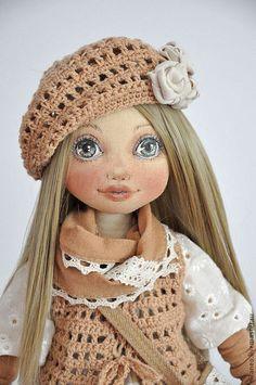 Коллекционные куклы ручной работы. Ярмарка Мастеров - ручная работа. Купить Дария. Handmade. Бежевый, коллекционная кукла