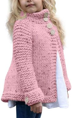New Crochet Sweater Pattern Baby Free Knitting Ideas Free Baby Sweater Knitting Patterns, Knitting Baby Girl, Knitting For Kids, Free Knitting, Knitting Looms, Sweater Patterns, Knitting Ideas, Crochet Baby, Baby Girl Cardigans