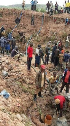 Working men's in Mbuji Mayi-Congo