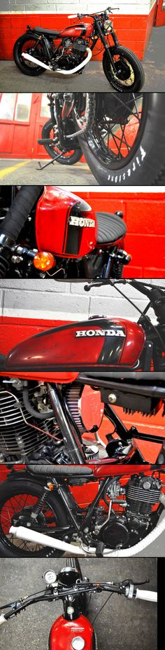 "500 SR ""Red Devil"" by Blitz Motorcycles - http://blitz-motorcycles.com/"