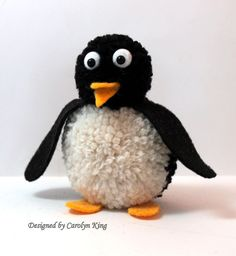 I have one more pom pom animal to share today. My son requested that I make him a penguin and then shortly after, a friend emailed me that ...