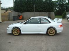 subaru 22B impreza wrx sti. and this one is over 800HP! i want one so bad!