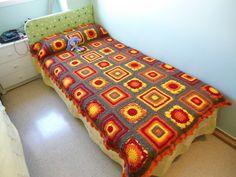 Manta en cama de 90 cm