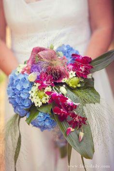 bride's flowers #wedding