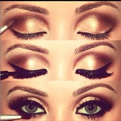 Perfect make up, Especially for blue eyes