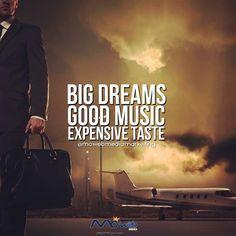 #music #dreams #quote #webdevelopment #digitaladvertising #graphicdesign #pr #branding #motivation #inspiration #luxurious #premium #services #webdesign #digitalbranding #agencylife