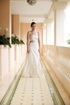 A Silk And Lace Wedding Dress Designed Tailored In Hoi An Vietnam HoiAnEventsWeddings HoiAn VietnamBeachWeddings